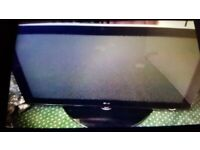 LG Wide-screen 42 inch HD TV. Remote control. HDMI. Open to offers. Collect today cheap