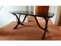 RETRO STYLE SOLID WOOD COFFEE TABLE
