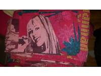 3 Hannah Montana bed cover for sale