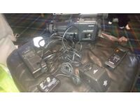 Camcorder Sanyo VM-D66P with charger and Miranda flash and remote