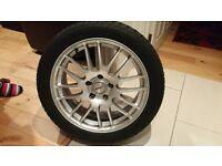 Dezent 17 alloy wheels 5x112 tyres