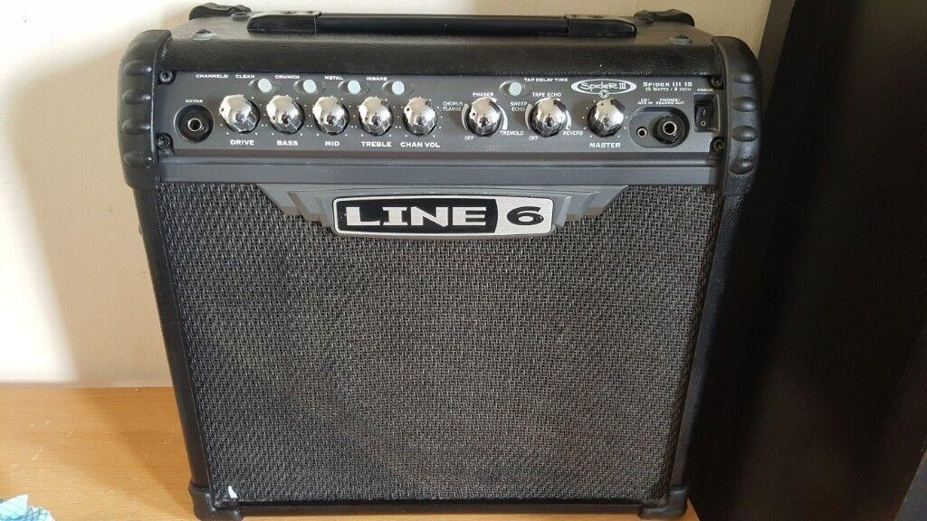 Line 6 spider 3 amp (15 watt, but powerful) | in Galashiels, Scottish  Borders | Gumtree