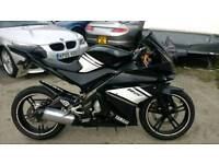 Yamaha YZFR125 mint bike 2012 model black moted tax mint Atherton manchester sensible offer