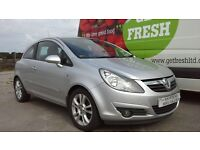 **FOR BREAKING** 2009 VAUXHALL CORSA (CHOICE OF THREE).