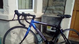 Carrera virtuoso race road pro bike. And a carrera subway 1 bike frame. For sell