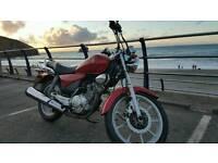 Yamaha Custom 125CC MINT only 8300 Miles