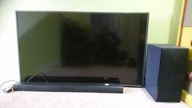 Smart TV and Playbar