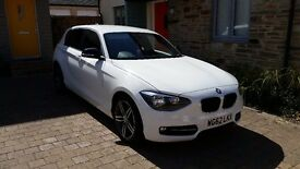 BMW 1 SERIES SPORT 116i 5 Doors tinted back windows