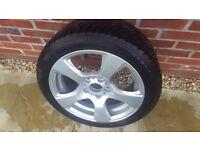 BMW winter tyres wheels 225 45 17