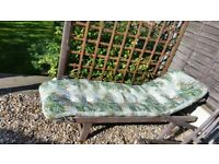Cushion for steamer chair or sunlounger