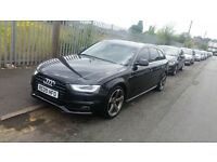 ++ AUDI A4 AVANT 2.0 TDI S LINE BLACK EDITION 2014 SPEC CONVERSION ++ bmw 5 3 1 series a5 a6 a7 s4