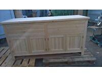 Solid Pine Base Cabinet, Dresser, Free Standing