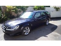 Stunning Saab 9-5 Turbo Estate first registered in 2010 with only 31,500 miles