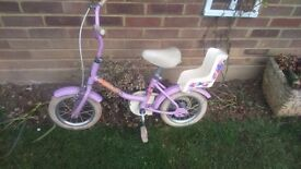Ideal for XMAS Girls Raleigh Poppet Bike (Lilac)