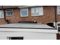 Flat roof repair/replace (epdm/rubber roof),Roofer, London.Painting, wallpaper,decorating, handyman