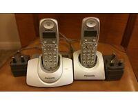 Panasonic Twin Cordless Phones