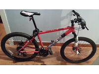 Saracen Mountain Bike - Tufftrox - As New - Cost £350