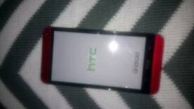 HTC one M7 32gb mobile phone
