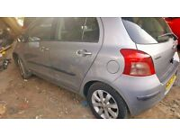 Toyota Yaris 2007 year, low mileage petrol manual