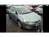 **FOR BREAKING** 2014 VAUXHALL ASTRA.