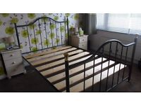 """double bed frame (4' 6"""")"""