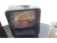 DIMPLEX FIRE RETRO CUBE COAL EFFECT FIRE