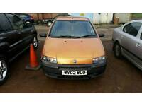 Fiat Punto 02 plate 5 doors No Mot