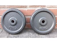 10KG CAST IRON WEIGHT PLATES