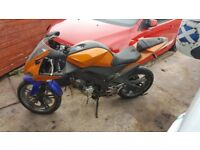 Yamaha yzf r125 spares repairs project