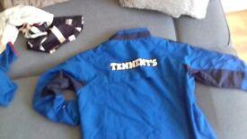 Rangers Fc waterproof jacket