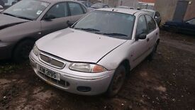 1999 ROVER 200, 2LT DIESEL, BREAKING FOR PARTS ONLY, POSTAGE AVAILABLE NATIONWIDE