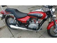 KAWASAKI ELIMINATOR 125CC RED 04 REG JUST OVER 10,000 MILES