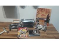 Imperia pasta machine with ravioli attachement