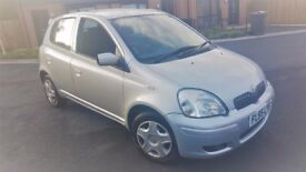cheap Toyota Yaris 1.0 5 DOORS WELL MAINTAINED 2 KEYS 1 LADY OWNER