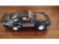 Scalextric porsche turbo 935 No5 car in black