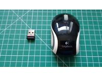 Logitech mini blue tooth wireless mouse M187