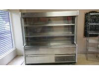 williams open chiller 1810mm x 600mm x 1810mm stainless