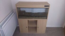 VIVARIUM on Stand with Thermo Control and Heat Mat