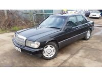 LHD mercedes 190 diesel , we have more left hand drive ---15 cheap cars on stock---