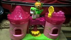 Mega Bloks Lil Princess Enchanted Castle