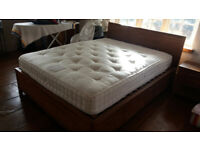 1 5' storage bed with matress + 1 drawer bedside + 1 drawer chest