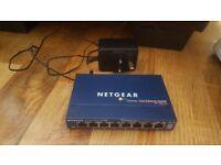 netgear fast ethernet switch fs108 v2