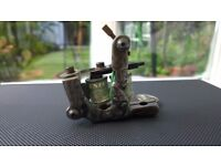 Hand carved tattoo machine, rogers style Shader