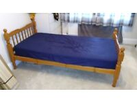 Single Wooden Bed- FREE