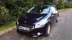 Peugeot 208 hdi 1.4 style 3 door low mileage, one female owner