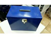 Filing box metal A4 size with lock& key