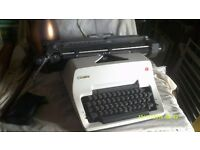 OLYMPIA OFFICE TYPEWRITER in SUPER CONDITION MANUAL BUT MODERN +++++++++++++++++++++