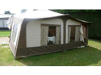 Pennie stirling folding camper with awining and bed skirts v good condition