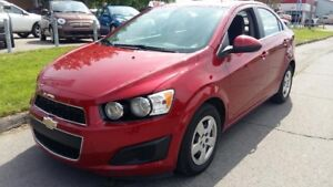 2015 Chevrolet Sonic LT,Automatique,Climatiseur,Bluetooth,Camera