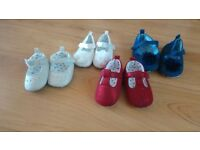 Pram shoes, various sizes